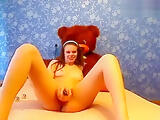 Private show with russian cam girl Valerija