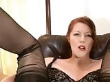 Jerk off for secretary mistress