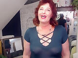 V228 Hot redheads new neighbor upskirt and face sitting