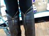 Leggings & OTK Boots