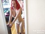 Morning sex with my redhead slut girlfriend