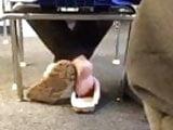 Feet in classroom