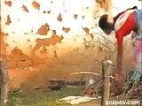 desi village bhabhi peeing in front cammera