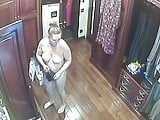 Hidden camera. spying on a young girl and her mom 3