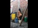 brazilian women outdoor striptease