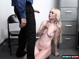 Shoplifter Lilly Bell let LP Guy bangs her tight pussy