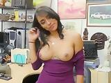 Super Hot Latina Jessi At The Pawnshop