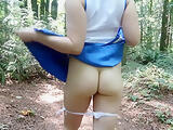 Public Ass Flashing - Forest Edition