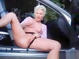 fuckable slutwife fingering outdoor