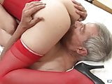 Silver Grandpa fucks Young nice Women