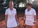 Victoria Derbyshire and Colleen Nolan Tennis