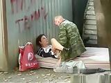 Russian sex outdoor
