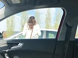 Public masturbation and car dick flash