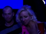 Swinger babe with big boobs is playing
