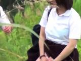 Goldenshower teens pee