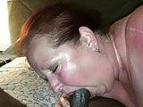 Married Slut sucking another BBC