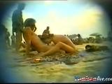 blowjob on a beach of Cap dAgde