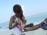 Dirty nipponese sweetheart Rino Konno gets naked