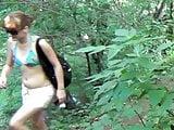 Naked man towards