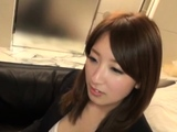 Sultry japanese kitty Anri Oonuki engulfs dinky