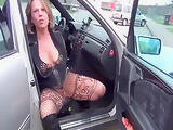 Hooker pees on him in car