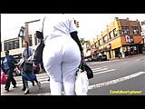 Big Butt Pear Candid Booty Nurse
