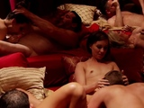 Swingers love when they play naked.