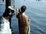 Czech actress Dagmar Patrasova skinny dipping - Vistors 1983