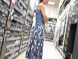 German Mature Upskirt In Store 06
