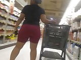 Thick Ass Black Girl in Tights(Busted?)