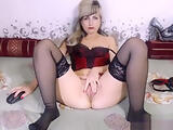 Mature Angeldream fucks her ass