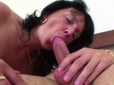 Mother Seduce Step-Son to Fuck When Dad is on Work