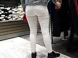 Voyeur covid 11 sexy teen ass jeans White