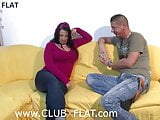 CLUBXFLAT- neighbor shows me her silicone tits