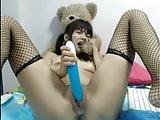 Webcam teen asian dildo double penetration