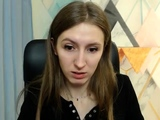 beautiful girl striptease on webcam