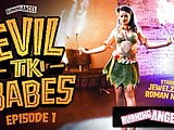 BurningAngel Barmaid Jewelz Blu Gives A Hot Tiki Performance