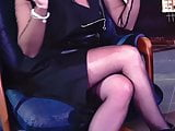Cum For Nylons of Turkish Milf Presenter