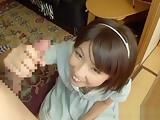 Koharu Aoi naughty Asian amateur enjoys car sex