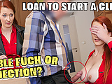 LOAN4K. Isabella gives her shaved vagina for fucking to get