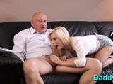 Startling blonde perfection gets pounded