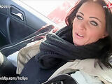 MyDirtyHobby - Busty MILF ex-wife picked up and fucked in car outdoors