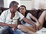 DAD NAUGHTY GIRL ERICA BLACK SEDUCES BF S DAD TO FUCK H