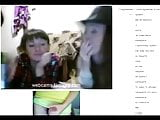 Three friends watch me jerk off for them in a video chat