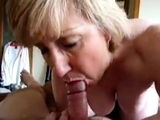 My Milf sucking cock