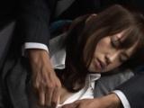 Overwhelming exotic lady Momo Ogura enjoys pussy stretch