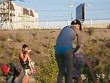 Girls on beach 49