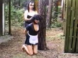 Kinky Mean Girls From Europe Punish Her Friend Badly