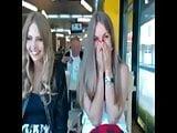 Webcam women outside