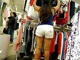 Amazing Ass with White Shorts VPL candid Indian MiLF pt3